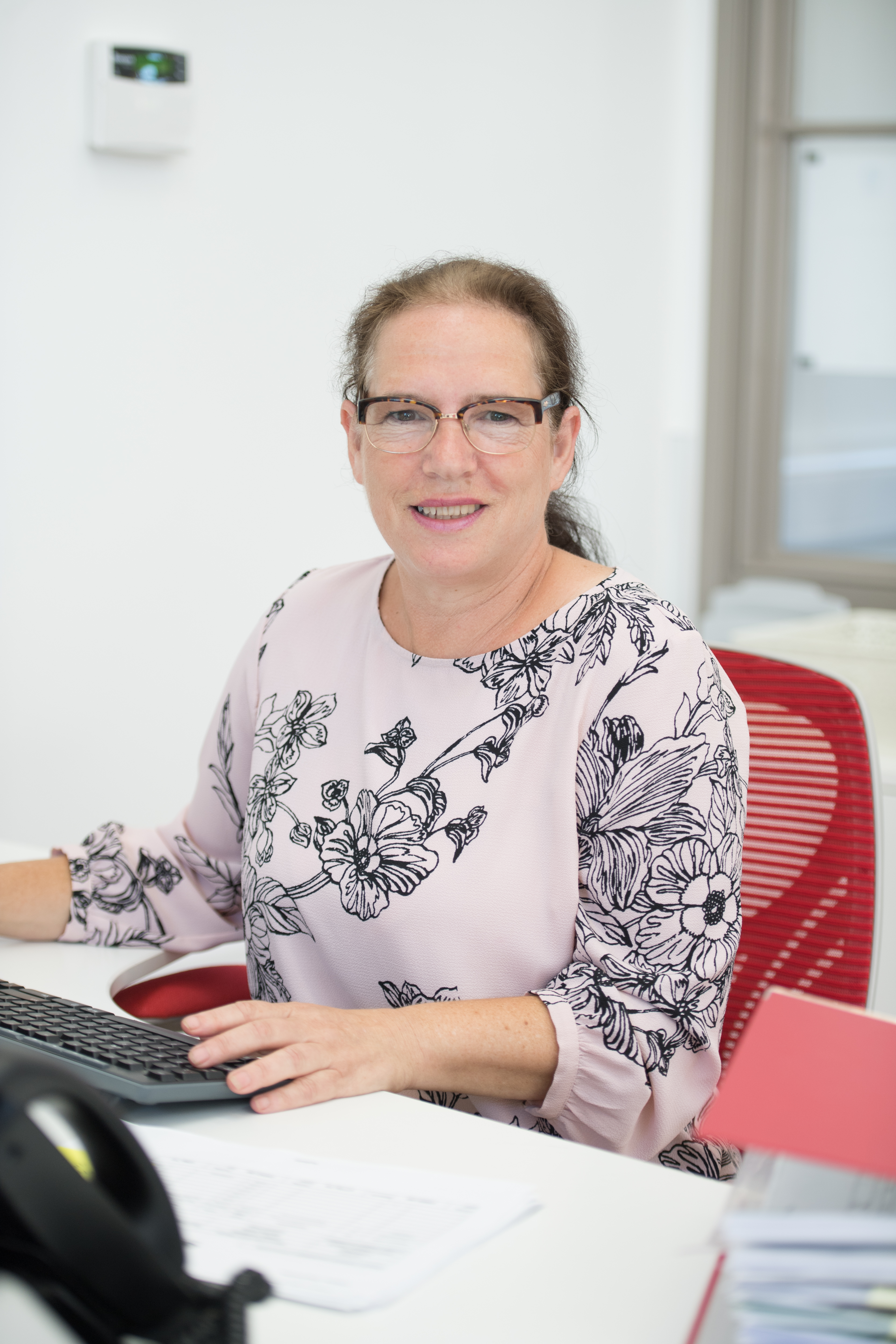 Sue: Administrator and payroll manager